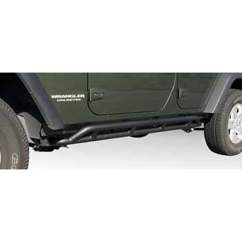 PROTECTION LATERALE ROCK CRAWLING JEEP WRANGLER JK 4 PORTES 2007-2017