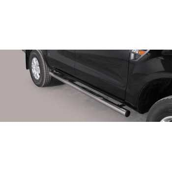 MARCHE PIEDS INOX MAX 76 FORD RANGER 2012 - 4 Ptes