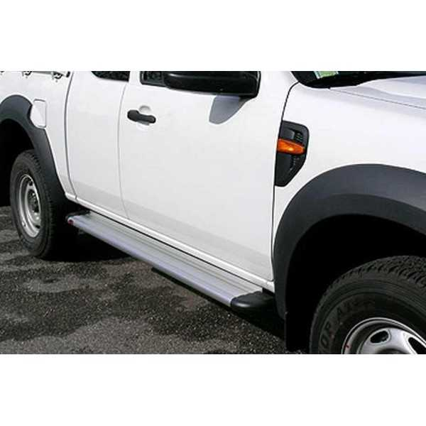 MARCHE PIEDS ALU S50 FORD RANGER OU MAZDA BT50 2007-2011 XTRACAB