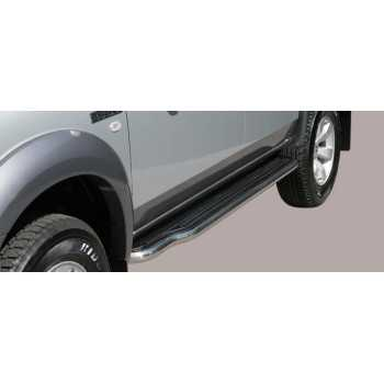 MARCHE PIEDS INOX 50MM FORD RANGER 07-09