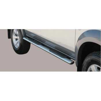Marche pieds inox ovale FORD RANGER 07-09