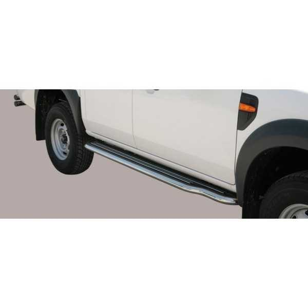 MARCHE PIEDS INOX 50MM FORD RANGER 09-11