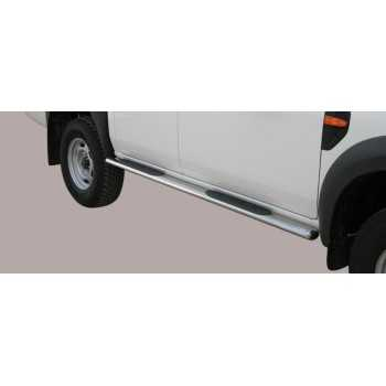 Marche pieds inox ovale FORD RANGER 09-11