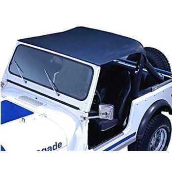 Bikini tops RUGGED RIDGE noir sans sangle Jeep CJ 7 1976-1986
