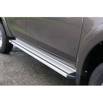 Marche pieds aluminium Mitsubishi L200 2015+ 4 portes