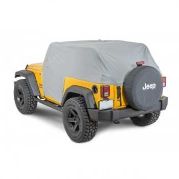 Couvre cabine jeep Wrangler 2007-2018 2 portes