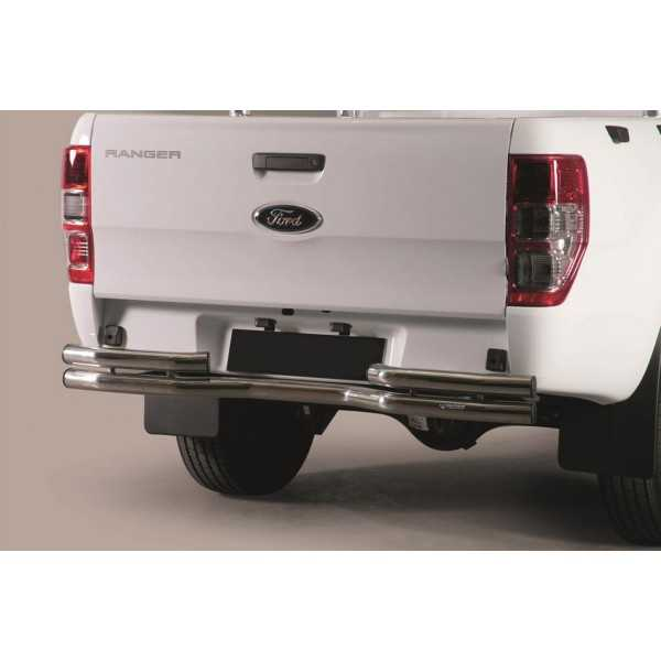 pare choc arriere inox Ford Ranger 2016-2017