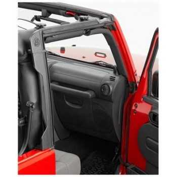 entourage de porte arri re bestop jeep wrangler jk 2007 4 portes cash 4x4 equipements. Black Bedroom Furniture Sets. Home Design Ideas