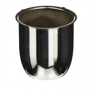 Cache moyeu fermé chromé diamètre 80 mm