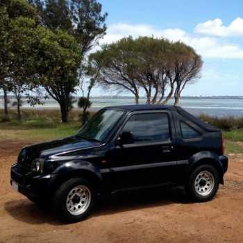 Capotage fastback noir Suzuki Jimny 1999-2006