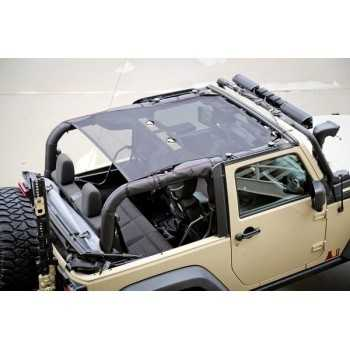 Filet de protection solaire Jeep Wrangler 2007-2018 2 portes