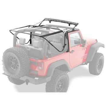Armature metallique pour capotage origine Jeep Wrangler JK 2007-2018 2 portes