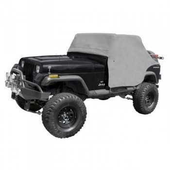 COUVRE CABINE VINYL GRISE JEEP WRANGLER YJ 87-91