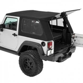 Capotage Bestop® trektop pro hybride Jeep Wrangler JK 07-18
