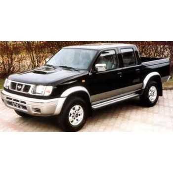 Elargisseurs d'ailes pour Nissan Navara 1998-