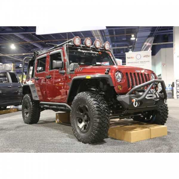 Protection latérale rock crawling Jeep Wrangler JK 2007-2018