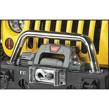 Tube central inox diam. 60 mm Jeep Wrangler JK 07-18, TJ 97-06, YJ 87-95, CJ 76-86