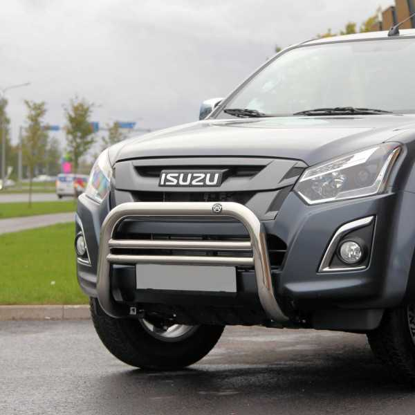 Médium bar inox diam 70 mm Isuzu D-Max 2017+