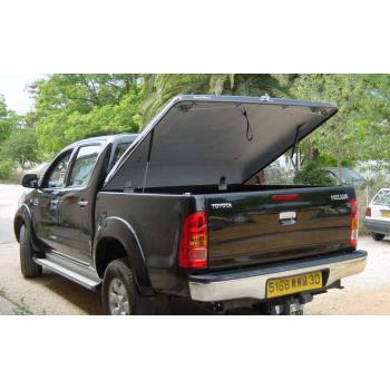 Couvre benne Toyota Hilux 4 portes 2006-2015