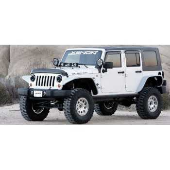 Elargisseurs d'ailes XENON Jeep Wrangler JK 2007-2018
