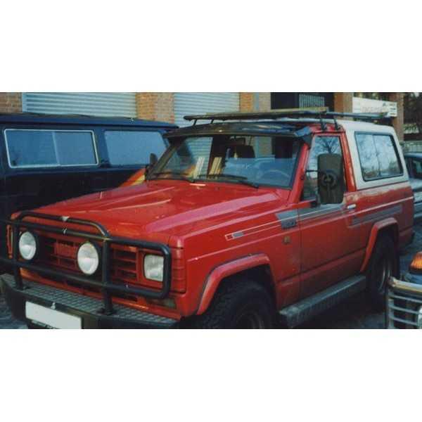 Visiere de pare brise Nissan Patrol 160-260 TYPE II FUME (FIXE)