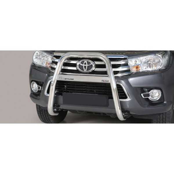 Big bar inox 63 mm Toyota Hilux Revo 2016+