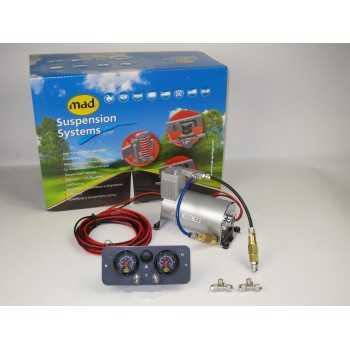 Compresseur pour compensateur double manomètre 12 Volts