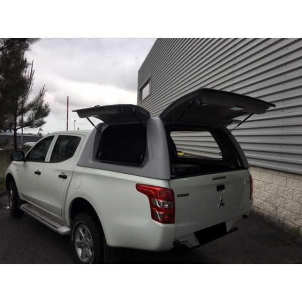 Hard top STARFLEX mitsubishi L200 2016+ 4 portes avec portes latérales