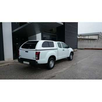Hard top Star-lux a/vitres laterales Isuzu D-Max space cabine 03/2017+