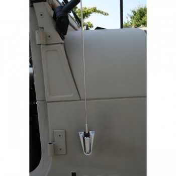 Antenne chromé Jeep CJ ET Wrangler 76-95