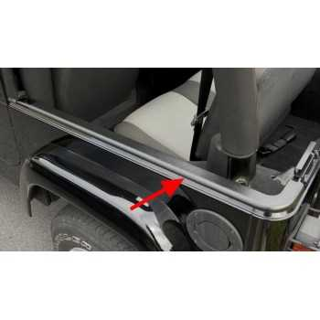 Rail de protection Jeep Wrangler TJ 1997-2006