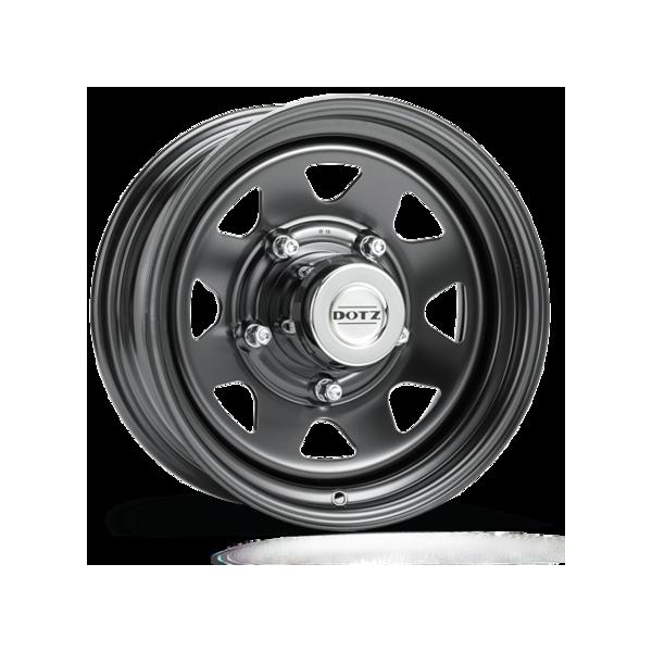 Jante acier dotz black 7x15 Suzuki Jimny/samourai