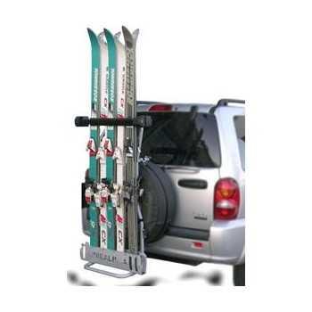 Porte ski acier 5 paires
