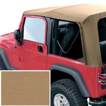 Capotage de remplacement RUGGED RIDGE marron Jeep Wrangler TJ 1997-2006