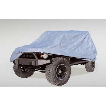 Housse avec antivol de Jeep Wrangler JK 2007-2018 2 portes