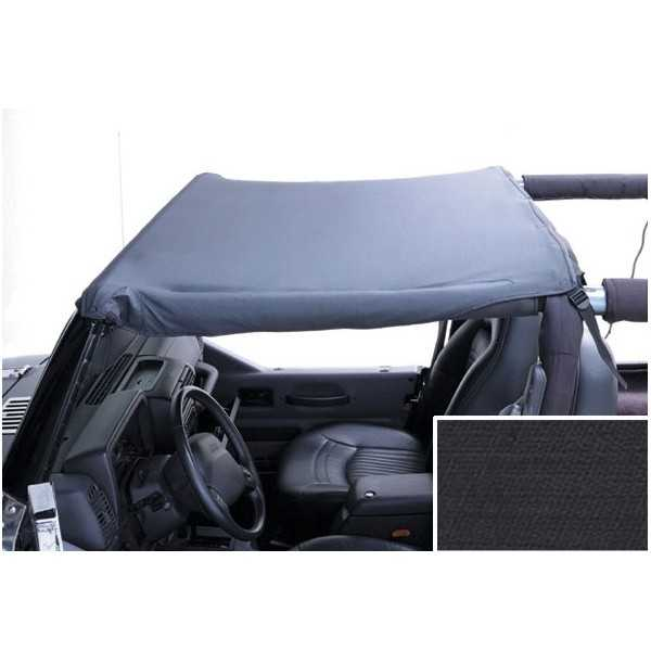 Bikini top RUGGED RIDGE noir Jeep Wrangler TJ 1997-2006