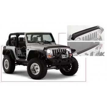 Protection de capot et de hayon arrière Bushwacker Jeep Wrangler JK 2007-2018