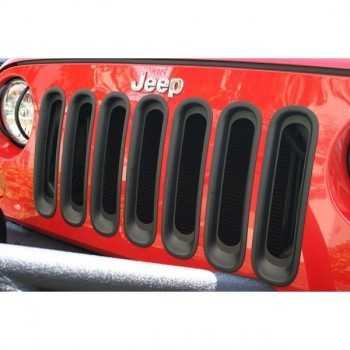 Enjoliveur de calandre noir Jeep Wrangler JK 2007-2018