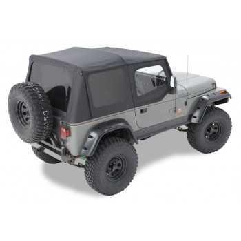 Capotage Jeep