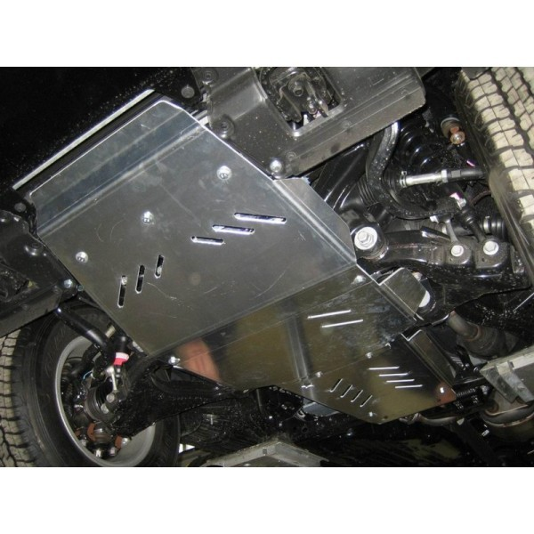 Blindage aluminium